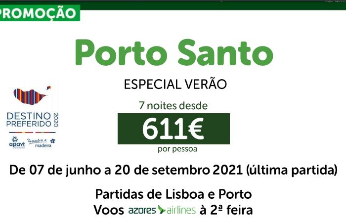 Porto Santo – Verão 2021
