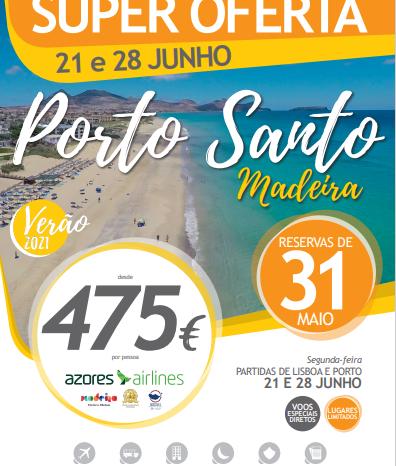 Promoção Porto Santo